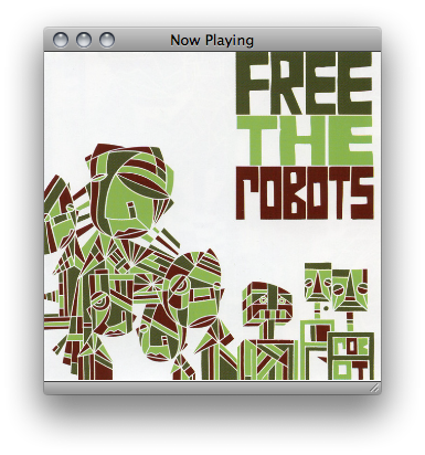 now listening - free the robots